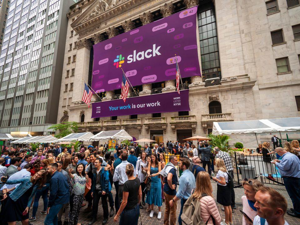 Slack's IPO